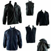 Mens Reversible/Convertible Hooded Windbreaker Windcheater Jacket Vest 4 in 1