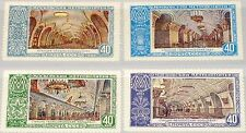 RUSSIA SOWJETUNION 1952 1659-62 1656-59 Moscow Subway Stations U-Bahn MNH
