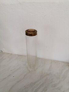 Edwardian Glass Hat Pin Jar