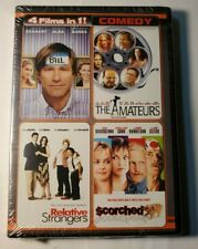 Meet Bill The Amateurs Relative Strangers Scorched Dvd New 4 Movie Collection