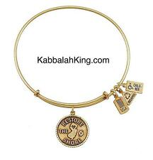 Wind & Fire Restore The Shore Charm Gold Stackable Bangle Bracelet Made In USA