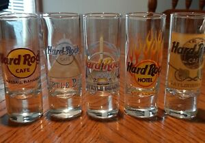 HARD ROCK CAFE shot glass lot