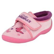 Scarpe in tela rosa con chiusura a strappo per bambine dai 2 ai 16 anni