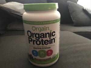Orgain Organic Creamy Chocolate Fudge Protein Powder - 2.03lbs.