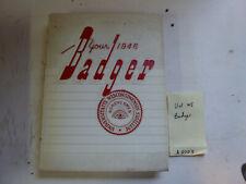 1946 The Badger University Of Wisconsin Yearbook - Photos Football Baseball