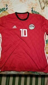 Adidas Red Egypt 2018 World Cup Jersey Mo Salah Size 2XL