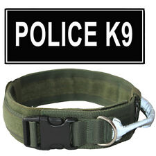 2 inch No Pull Working Dog Collar Reflective Handle Nylon Padded Big Dog Collar