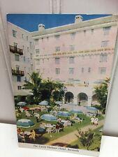 Castle Harbour Hotel Bermuda Postcard Vintage 22979