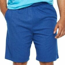 Mens Nike Big & Tall Shorts Size 3xl Blue Dri Fit Drawstring Waist Swoosh