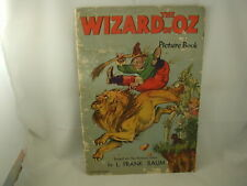The Wizard of Oz Picture Book L Frank Baum 1939 Percy Leason Illustrations