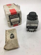 Agastat 7012AD Time Delay Relay 5-50 sec. 120V - New (IE13)