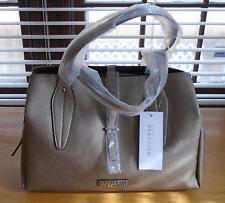 NWT Kenneth Cole Reaction Gold Metalic Triple Entry Satchel Handbag
