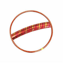 Gold Stripe Gloss Hula Hoops Adults Kids Hula Exercise Rings Fitness Fun Outdoor