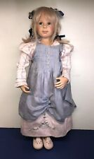 "25"" Heidi Plusczok Limited Vinyl Artist Doll 101-11 Beautiful Blonde Girl"