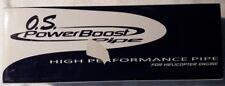 O.S. Power Boost Auspuff, Resorohr, für Helis, Neu in OVP, No. 2752.72