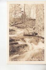 Real Photo Postcard Roaring Brook Petersham MA