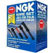 NGK 8112 SPARK PLUG WIRES BLUE FOR 98-01 NISSAN FRONTIER KA24DE NX13