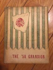 1958 Rio Grande College Yearbook - The Grandion - University Of Rio Grande -
