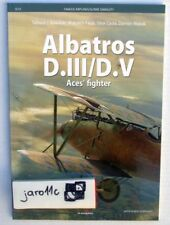 Albatros D.III/D.V Aces' fighter - Kagero Famous airplanes *N*E*W*