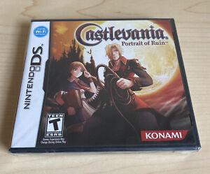 Castlevania: Portrait of Ruin (Nintendo DS, 2006) Sealed New CIB
