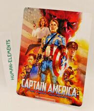 CAPTAIN AMERICA first avenger - Lenticular 3D Flip Magnet Cover FOR steelbook