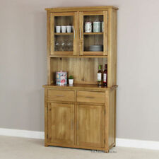 Unbranded Oak Dining Room Display Cabinets