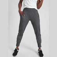 ATHLETA Venice Jogger Pants Medium Sculptek Light Fall 2019 Gray Heather New $98
