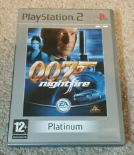 James Bond 007: Nightfire Sony Playstation 2 PS2 Game with Manual