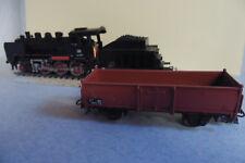 Märklin-- Dampflokomotive - Mit Tender - 3003 -- BR 24 058 - Mit Güterwagen - H0