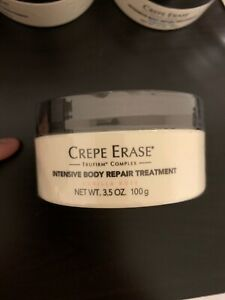 Crepe Erase Intensive Body Repair Treatment Vanilla Rose 3.5 oz. ~NEW - SEALED!