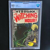 The Witching Hour #1 💥 CBCS 8.5 💥 1st Appearance of MORDRED! DC Comics 1969