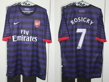 Arsenal London 2012 2013 Rosicky Nike Away Shirt Jersey Trikot Size XL