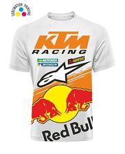 Tshirt KTM Dry FIT stampa in sublimatico MOTOCROSS Red Bull Enduro maglia replic