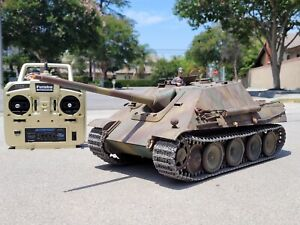 Tamiya 1/16 R/C German Tank Jagdpanther Destroy Full Option DMD T-03 Unit Futaba