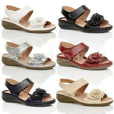 Damen-Sandalen & -Badeschuhe mit Keilabsatz/Wedge für Mittlerer Absatz (3-5 cm) und Freizeit