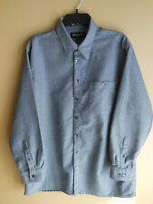 EUC Men's BRANDINI Button Down sz LT Large Tall L/S Dress Shirt (258)