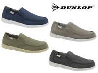 Dunlop Mens Canvas Deck Shoes Mens Lightweight Canvas Pumps Memory Foam Size