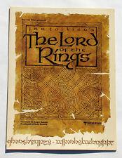 Lord of the Rings - Ralph Bakshi Animation - Promo Program 1978 - LOTR, Tolkien
