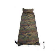 Outdoor Camping Sleeping Mat with Inflatable Cushion Camouflage