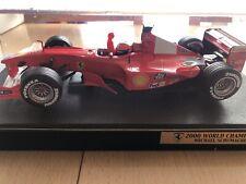 Hotwheels Michael Schumacher Ferrari 1:18 2000 World Champion