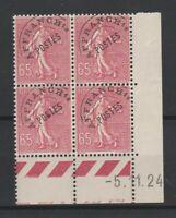 FRANCOBOLLI - 1922/51 FRANCIA C.65 PREANNULATI MNH/MLH E/2295