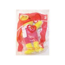 TY McDonald's Teenie Beanie - #3 BIRDIE the Bear (2004) (4.5 inch) - New in bag