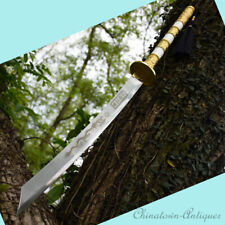 Manganese Steel Blade Sharp Flying Dragon Sabre Broadsword Battle Sword #1381
