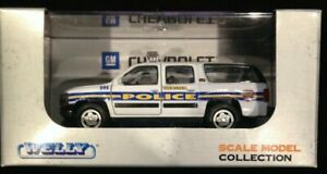 Welly Webster TEXAS Police Chevrolet Tahoe 1:43