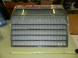 Vintage Star Mercerized 5 Drawer Thread Spool Store Display Cabinet Advertising