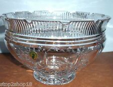 """Waterford Crystal Lismore Castle Footed Bowl 10"""" #129674 New In Box"""