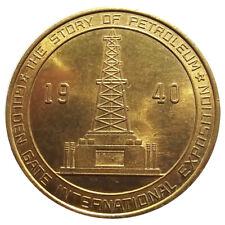 1940 Golden Gate Expo Petroleum $ HK-483, SH 23-12.1, World's Fair Token/Medal