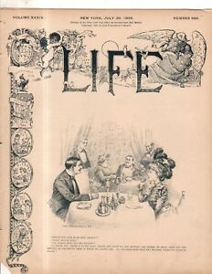 1899 Life July 20 - Lynchings of negroes need to stop; Vanderbilt Jr auto wreck