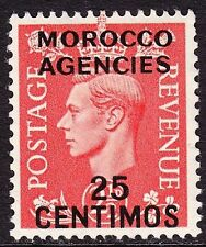 Hinge Remaining Morocco Agencies Stamps