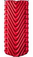Klymit Insulated Static V Luxe Red Sleeping Pad Travel Camping Mat, BRAND NEW